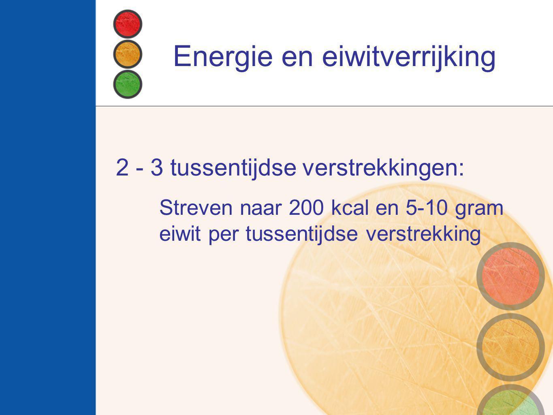 Energie en eiwitverrijking