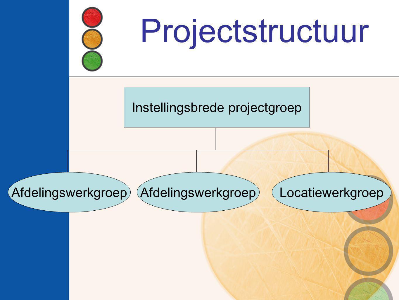 Instellingsbrede projectgroep