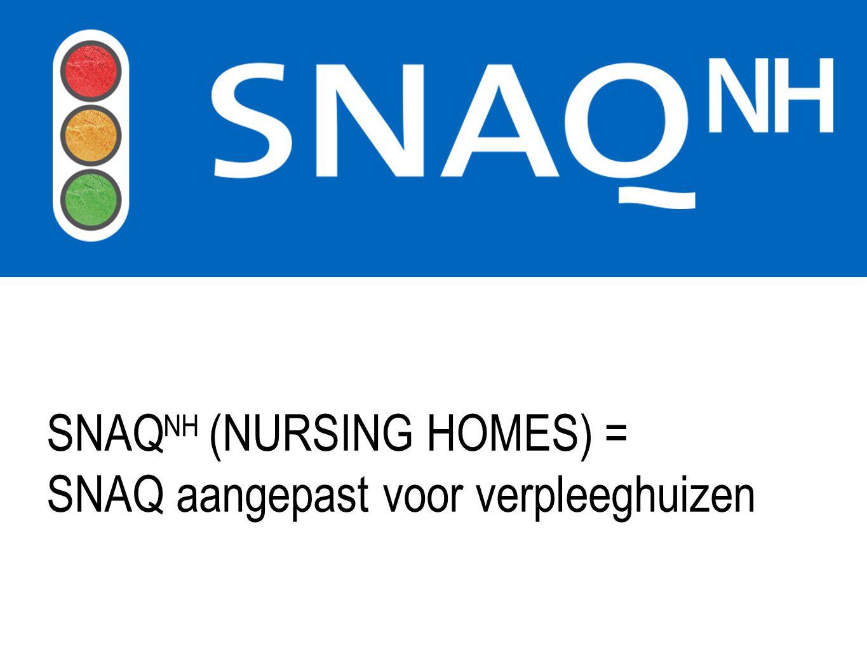 SNAQ aangepast voor verpleeghuizen