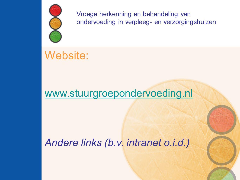 Website: www.stuurgroepondervoeding.nl
