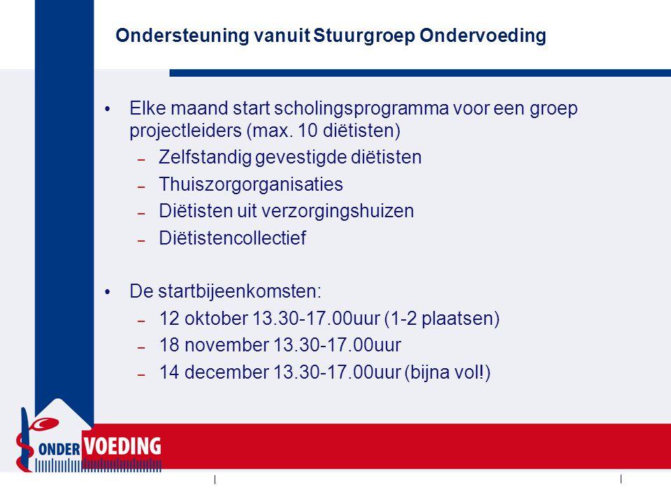 Wie kijkt er wel eens op www.stuurgroepondervoeding.nl