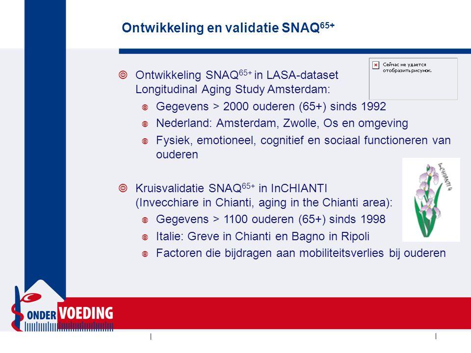 Ontwikkeling en validatie SNAQ65+