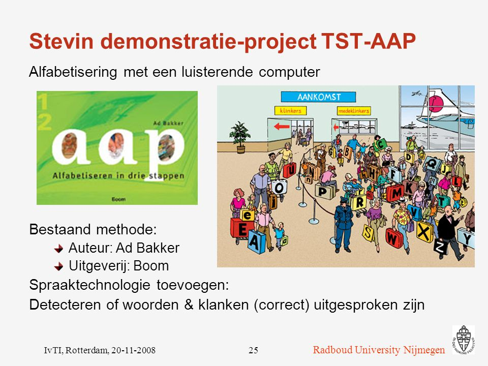 Stevin demonstratie-project TST-AAP