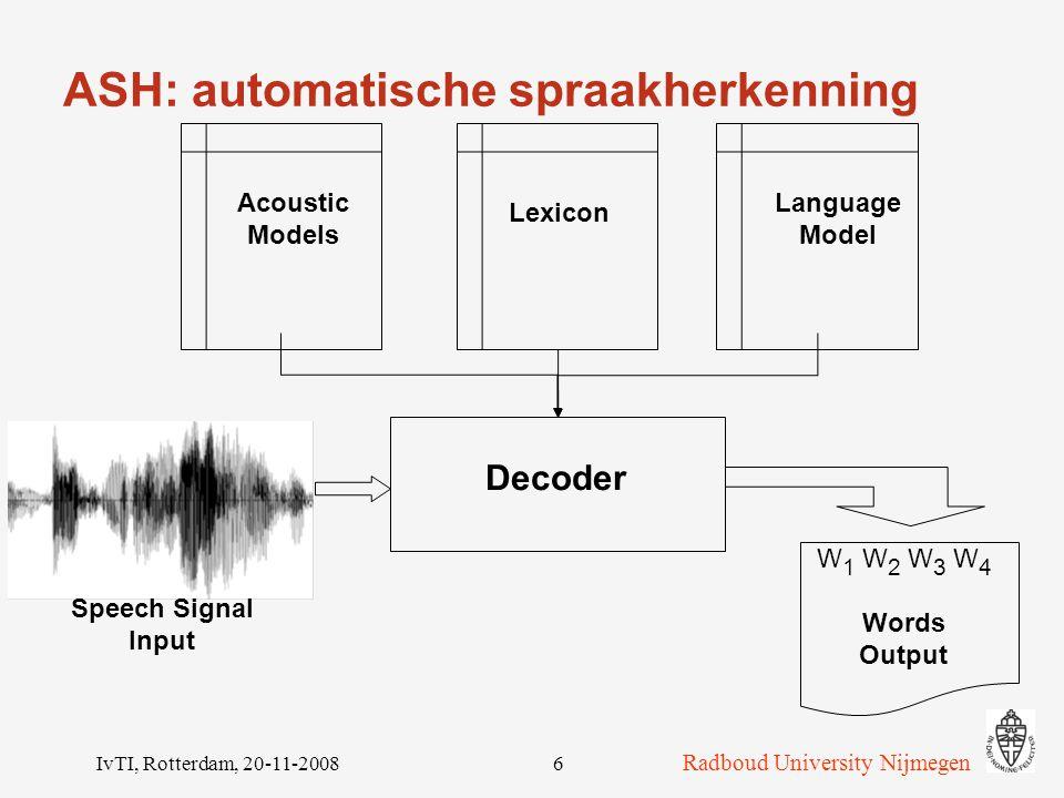 ASH: automatische spraakherkenning