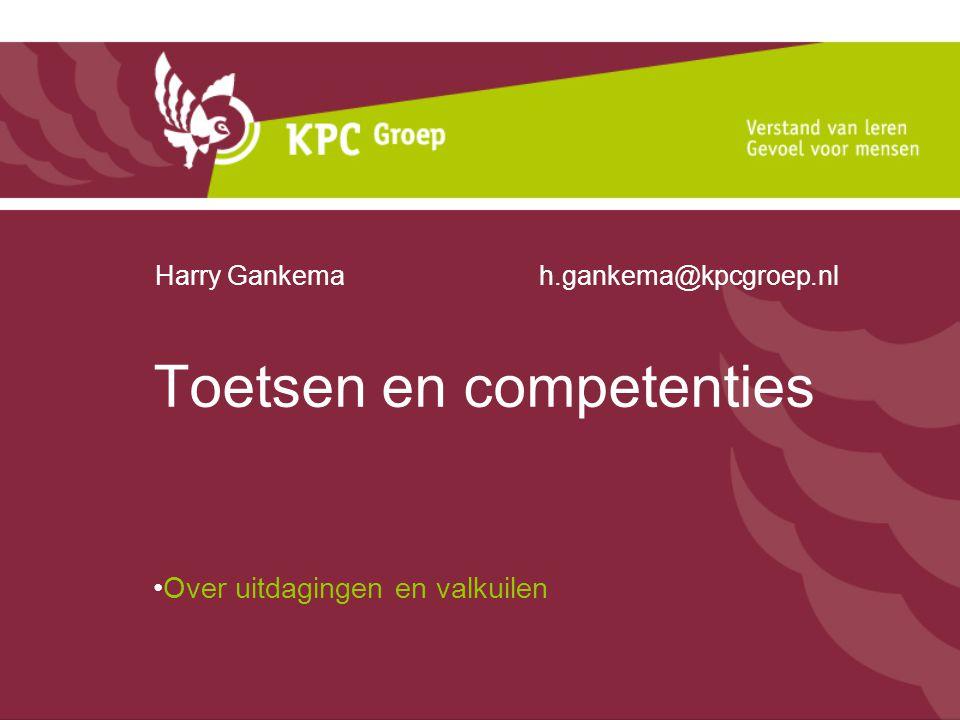 Toetsen en competenties