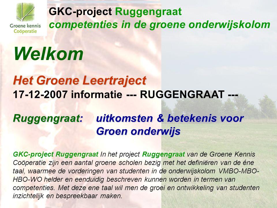GKC-project Ruggengraat