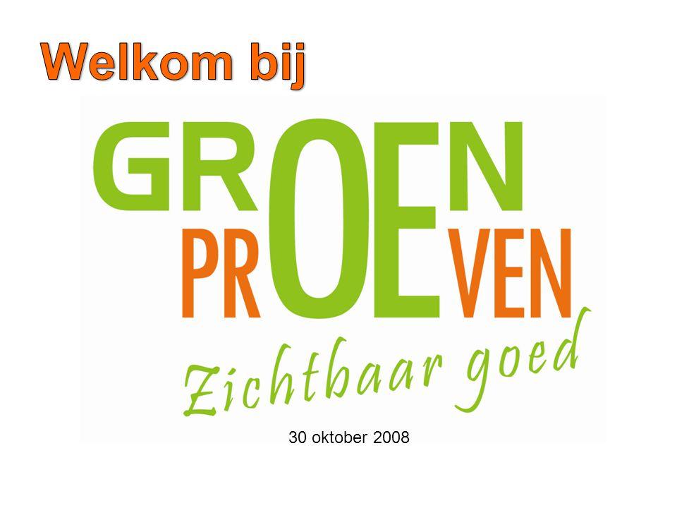 Welkom bij 30 oktober 2008
