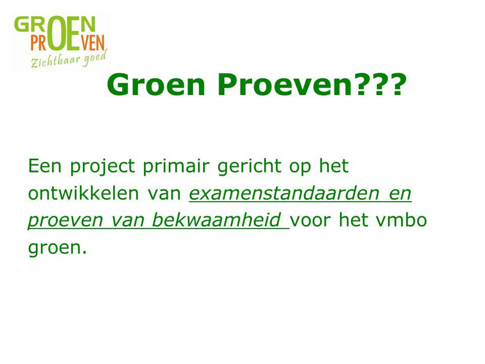 Groen Proeven .