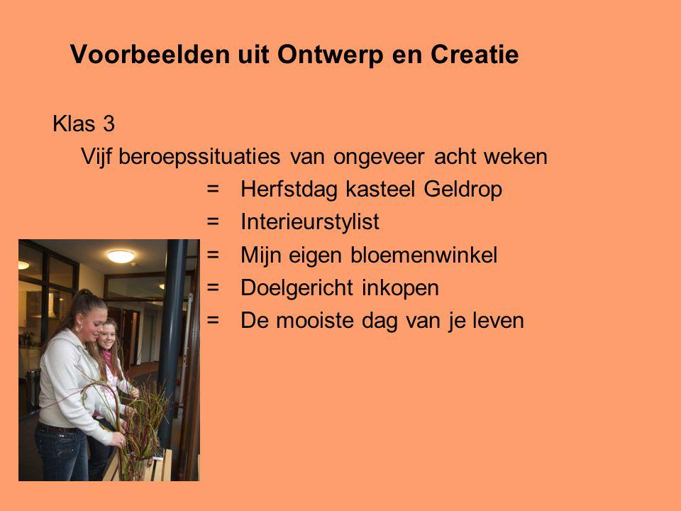 Voorbeelden uit Ontwerp en Creatie