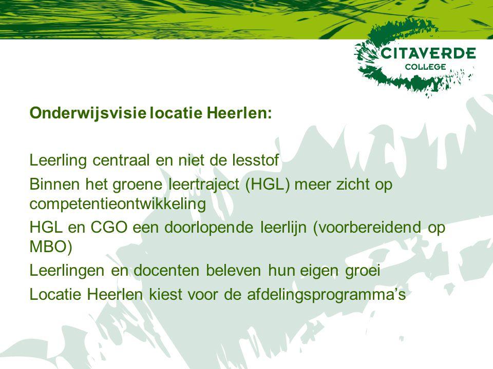 Onderwijsvisie locatie Heerlen: