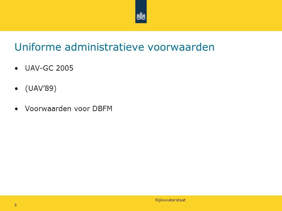 Uniforme administratieve voorwaarden