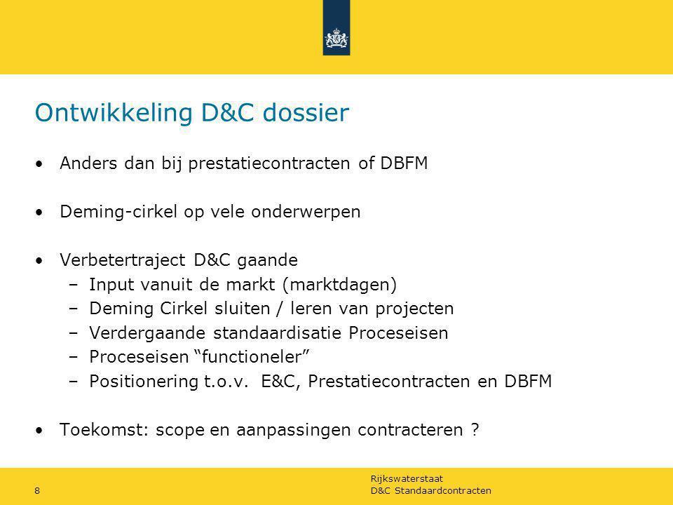 Ontwikkeling D&C dossier