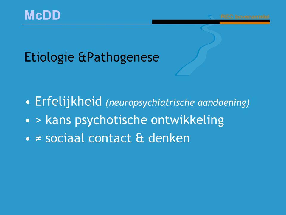 Etiologie &Pathogenese
