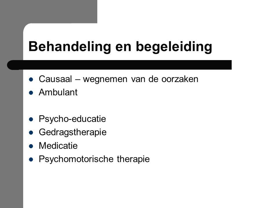 Behandeling en begeleiding