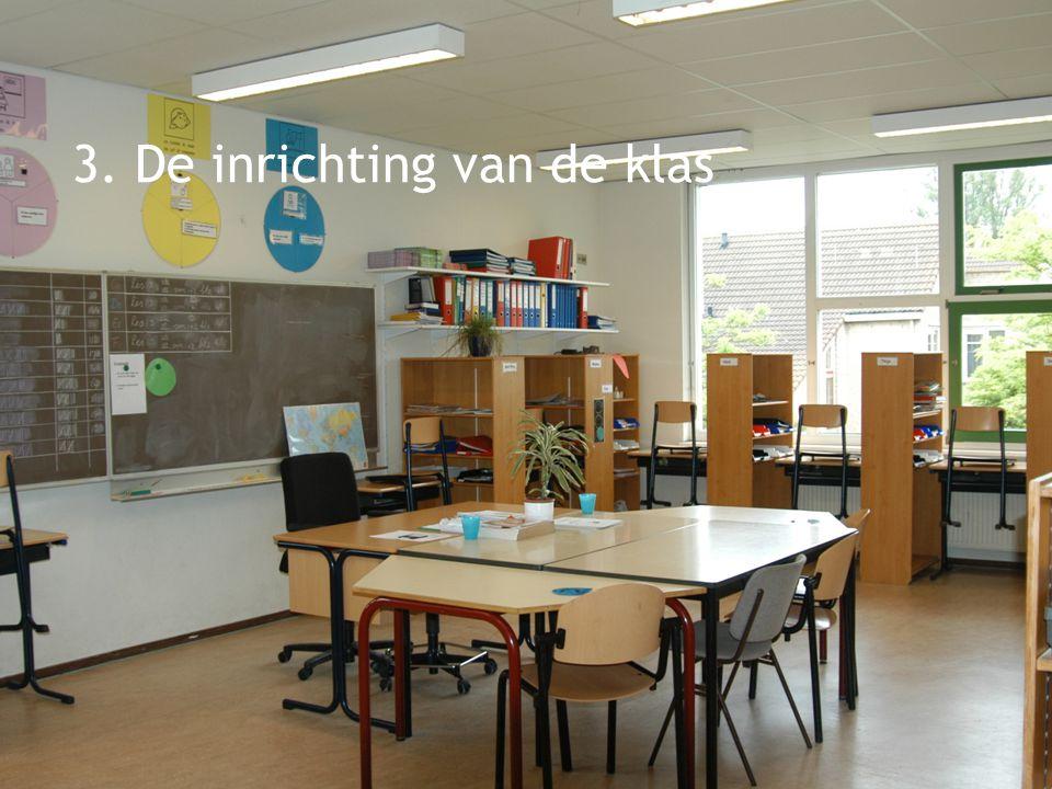 3. De inrichting van de klas