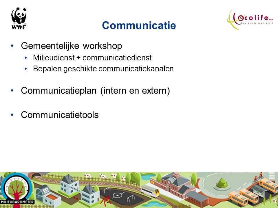 Communicatie Gemeentelijke workshop