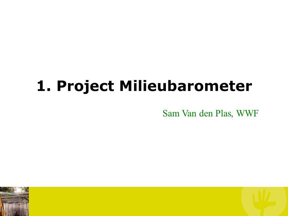 1. Project Milieubarometer