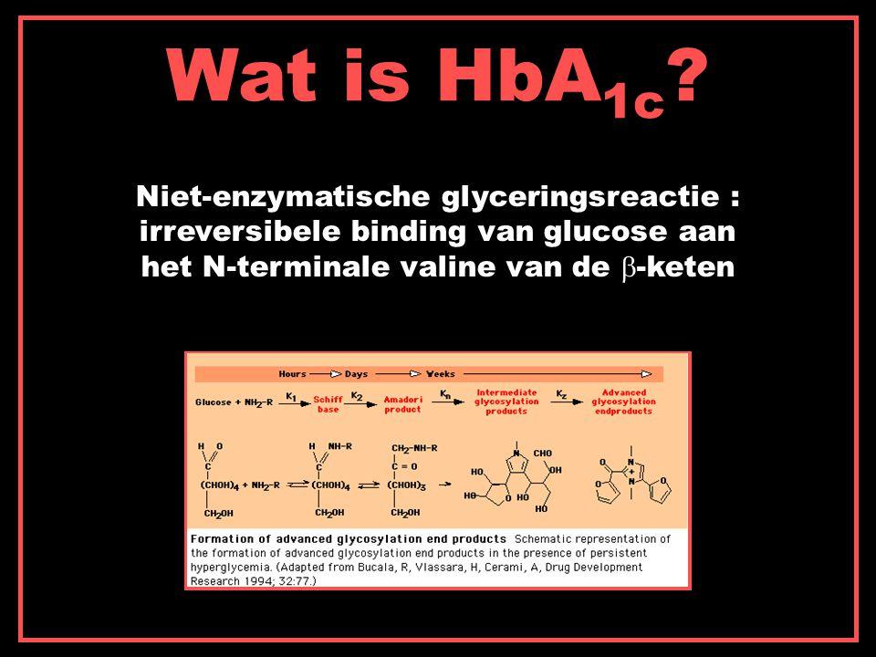 Wat is HbA1c.