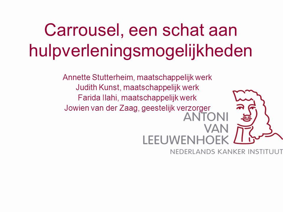 Carrousel, een schat aan hulpverleningsmogelijkheden