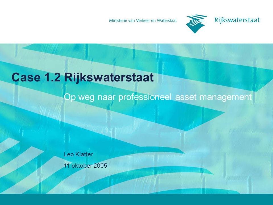 Op weg naar professioneel asset management