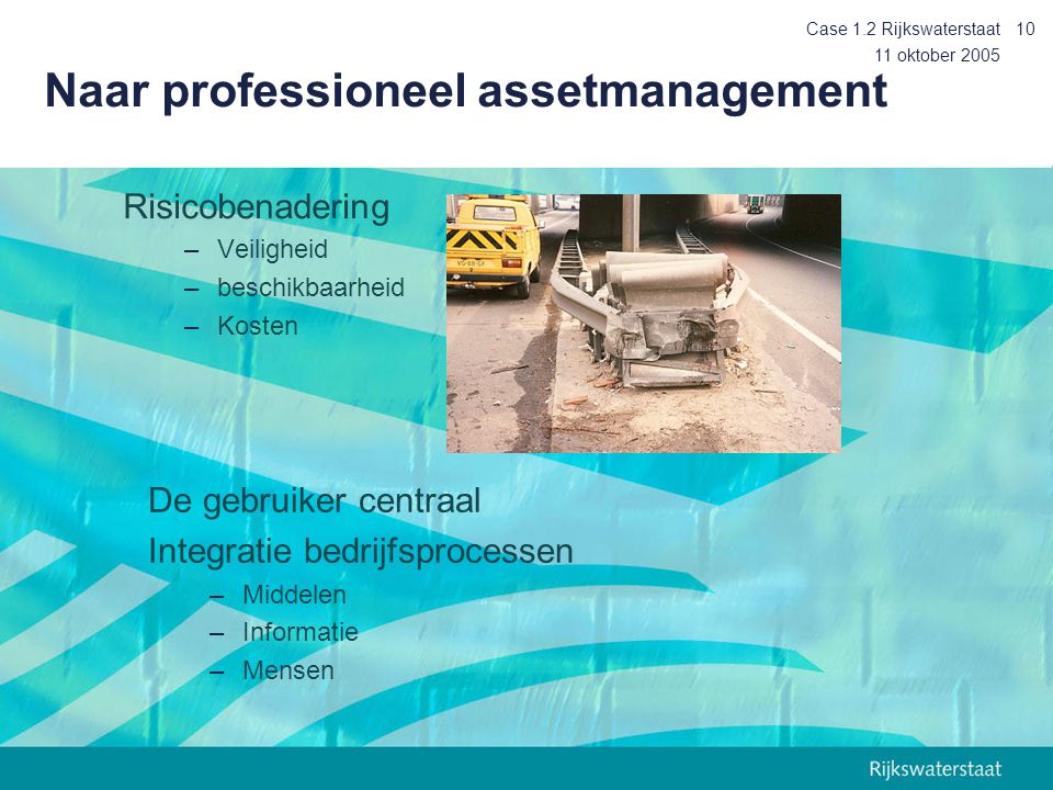 Naar professioneel assetmanagement