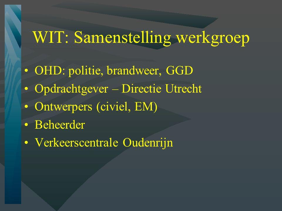 WIT: Samenstelling werkgroep