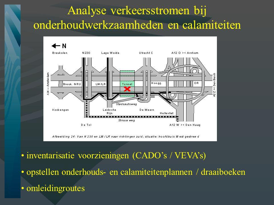 Analyse verkeersstromen bij onderhoudwerkzaamheden en calamiteiten