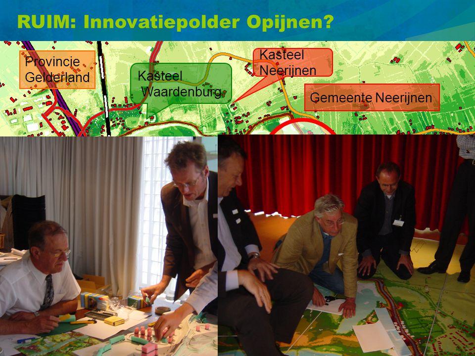 RUIM: Innovatiepolder Opijnen