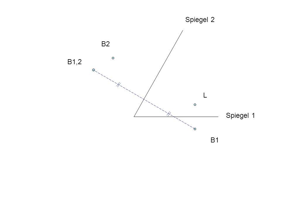 Spiegel 2 B2 B1,2 L Spiegel 1 B1