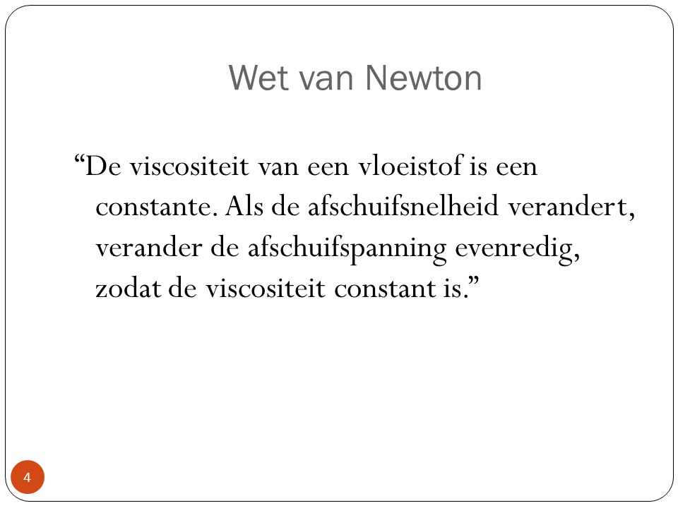Wet van Newton
