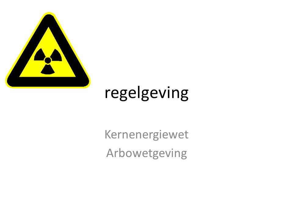 Kernenergiewet Arbowetgeving