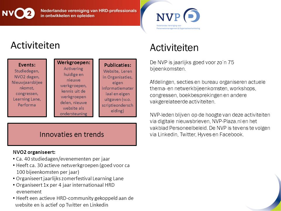 Nieuwjaarsbijeenkomst, congressen, Learning Lane, Performa