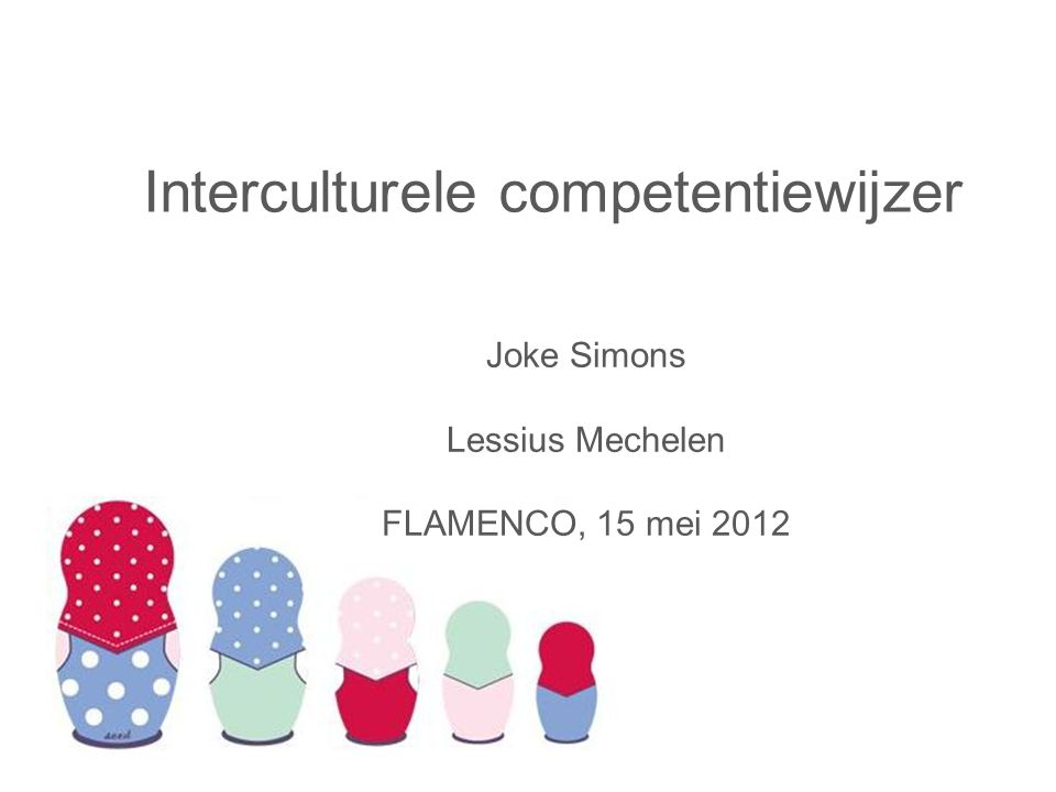 Interculturele competentiewijzer