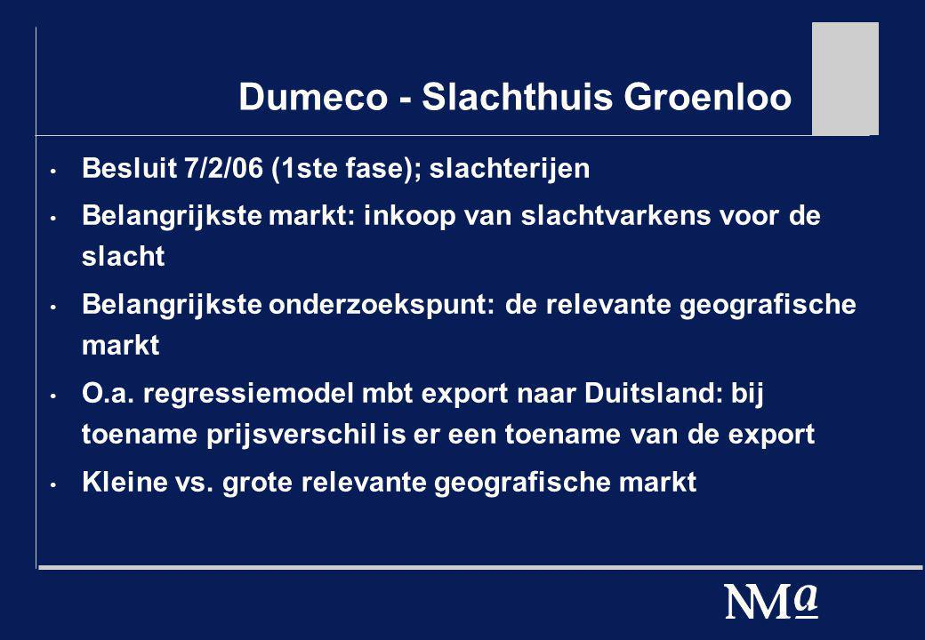 Dumeco - Slachthuis Groenloo