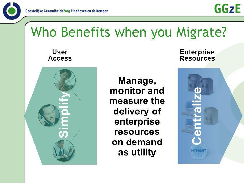 Who Benefits when you Migrate