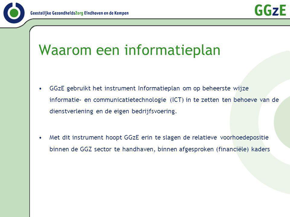 Waarom een informatieplan