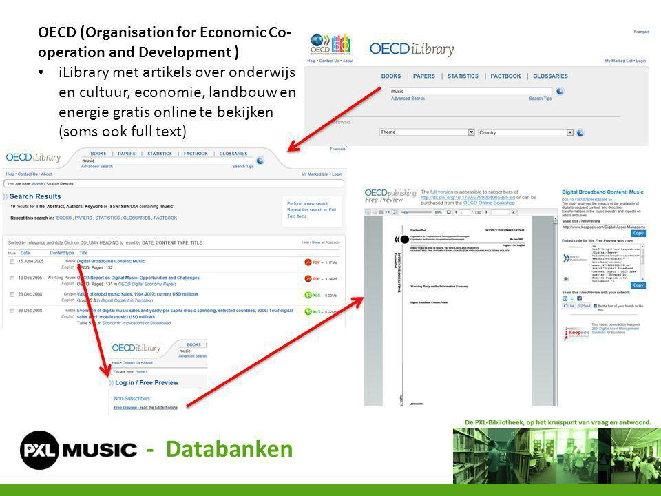 OECD (Organisation for Economic Co-operation and Development )