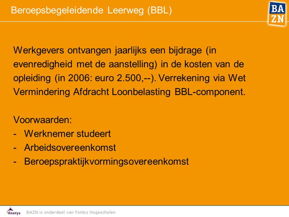Beroepsbegeleidende Leerweg (BBL)