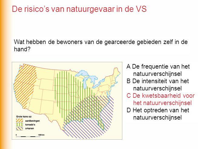 De risico's van natuurgevaar in de VS