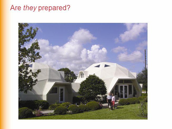 Are they prepared