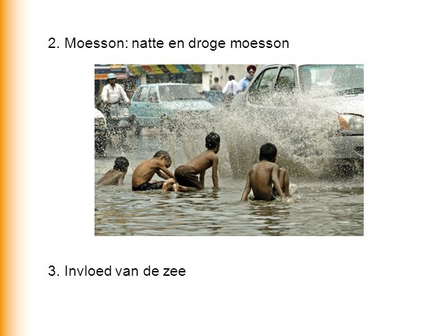2. Moesson: natte en droge moesson