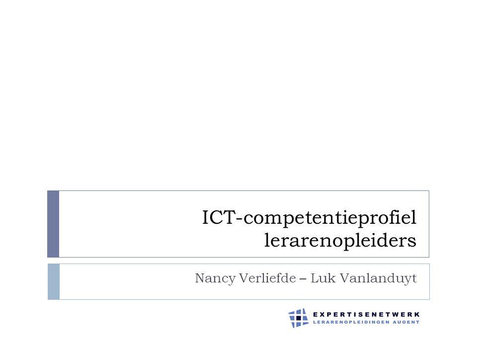 ICT-competentieprofiel lerarenopleiders