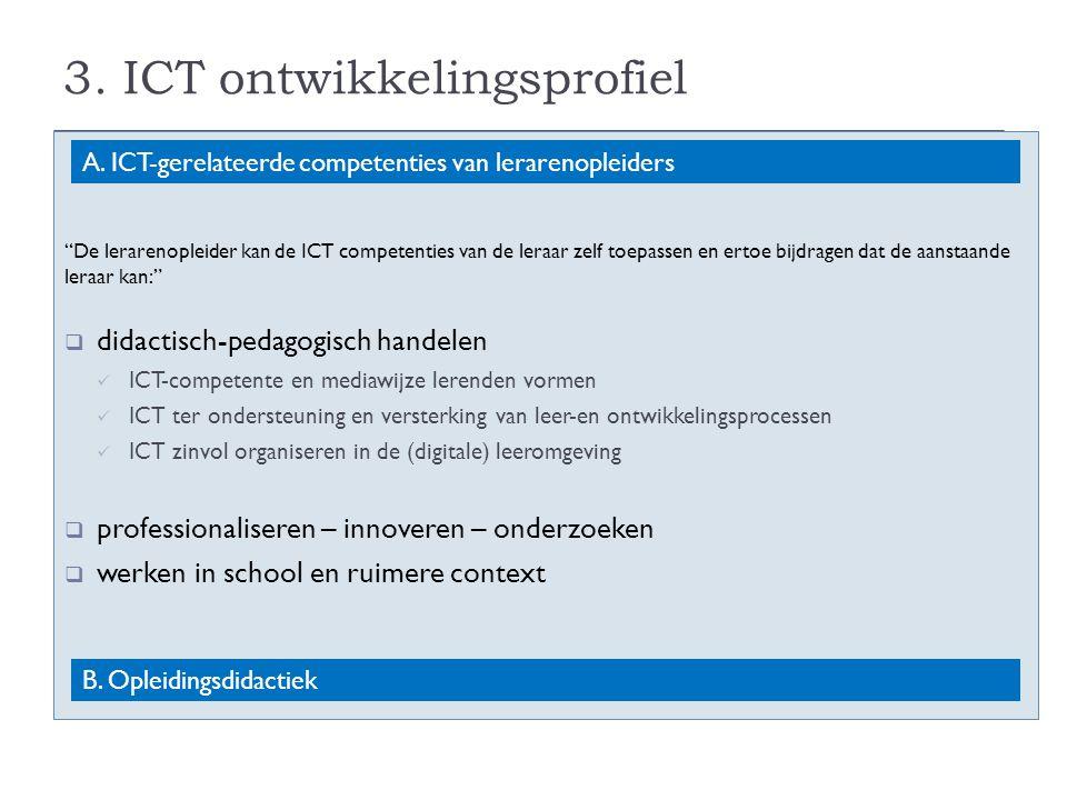 3. ICT ontwikkelingsprofiel