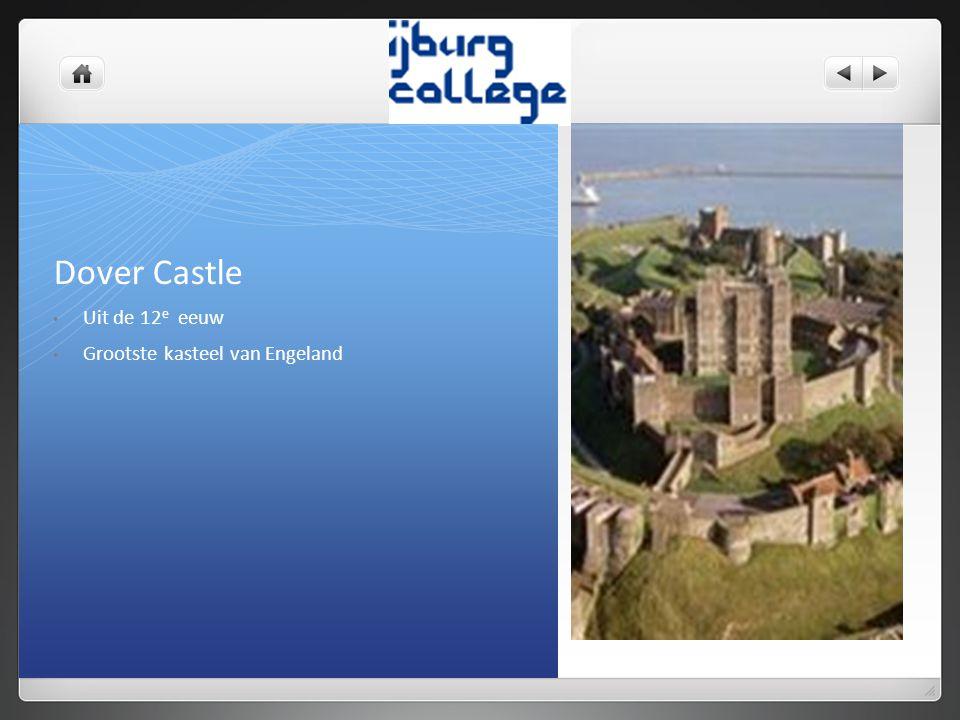 Dover Castle Uit de 12e eeuw Grootste kasteel van Engeland