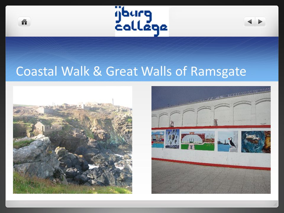 Coastal Walk & Great Walls of Ramsgate
