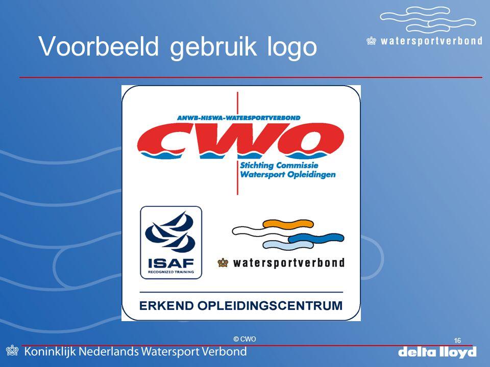 Voorbeeld gebruik logo