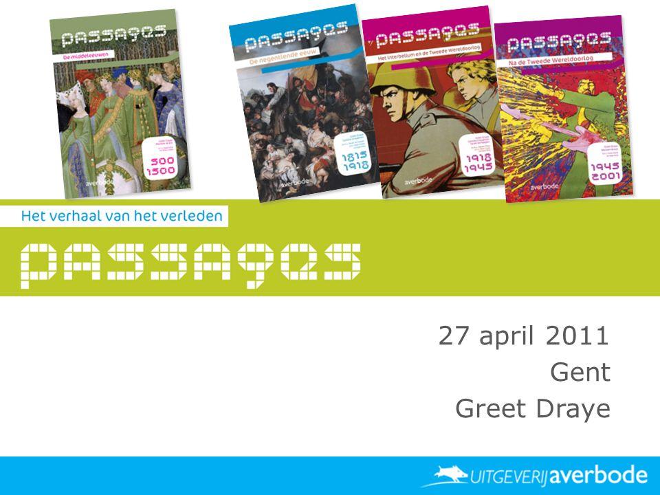 27 april 2011 Gent Greet Draye Datum Locatie Publiek spreker
