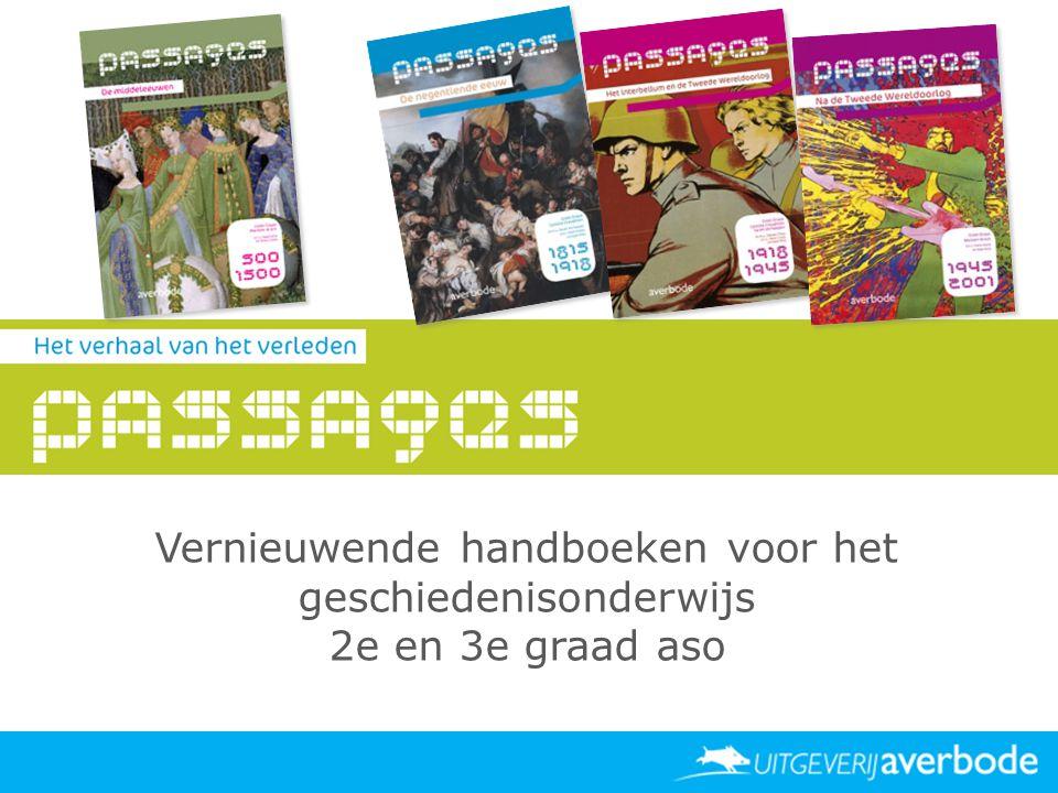 Vernieuwende handboeken voor het geschiedenisonderwijs