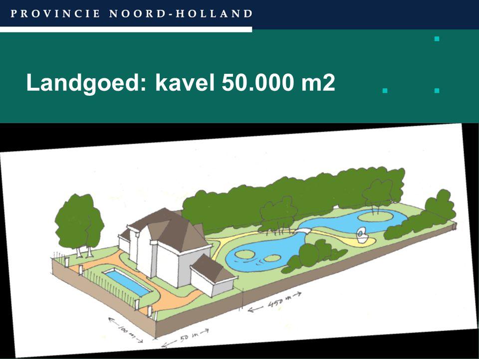 Landgoed: kavel 50.000 m2