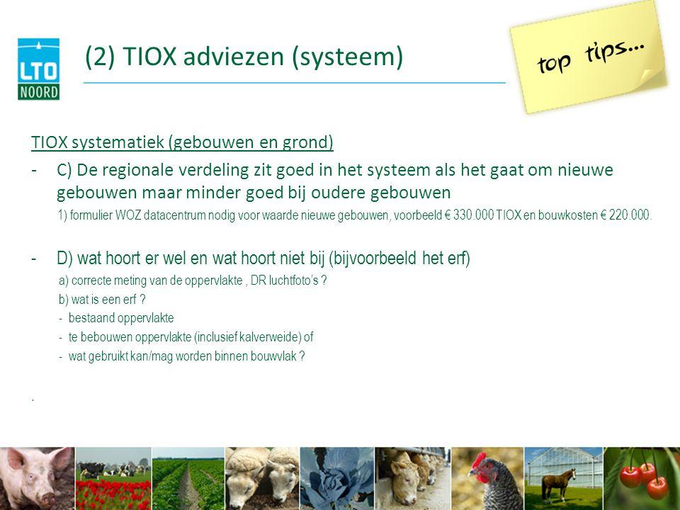 (2) TIOX adviezen (systeem)